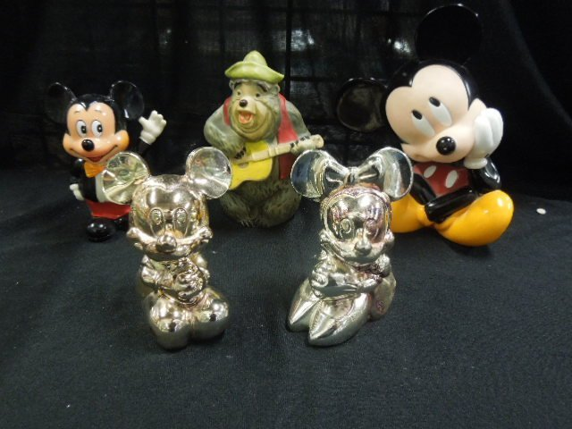 5 Disney Character Banks
