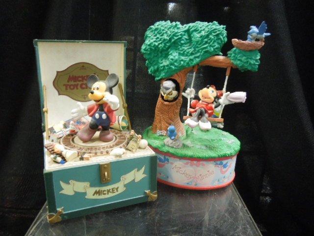 3 Disney Music Boxes - 3