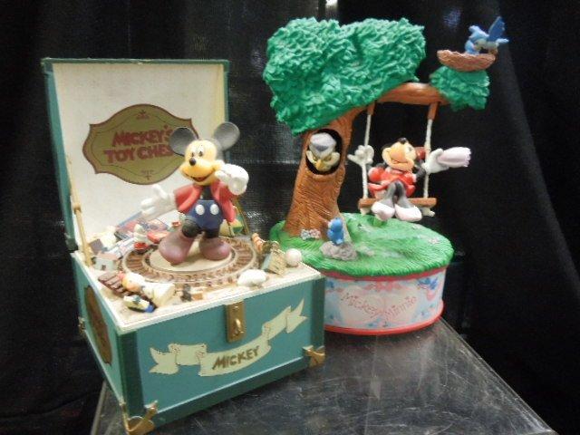 3 Disney Music Boxes - 4
