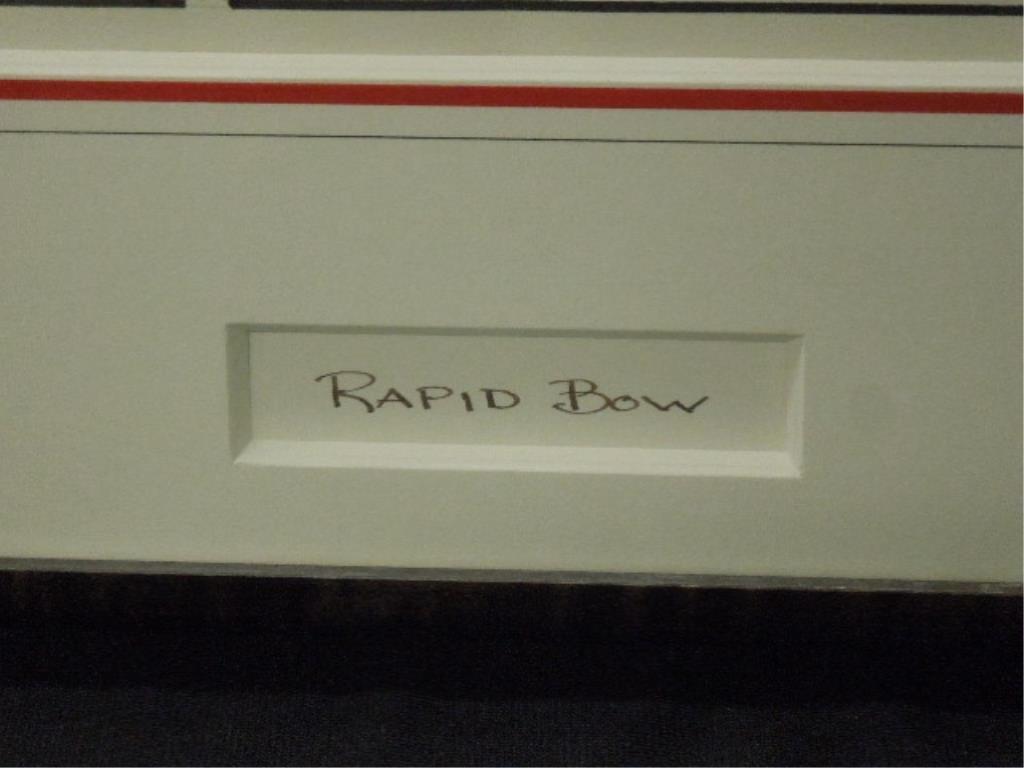 "Framed Yogi Bear Master sheet ""Rapid Bow"" - 6"