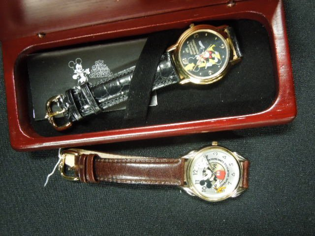 2 Official Disney Convention Watches