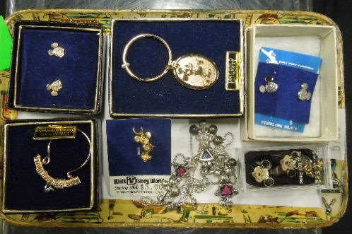 Asst 925, 14k & Other Disney Jewelry