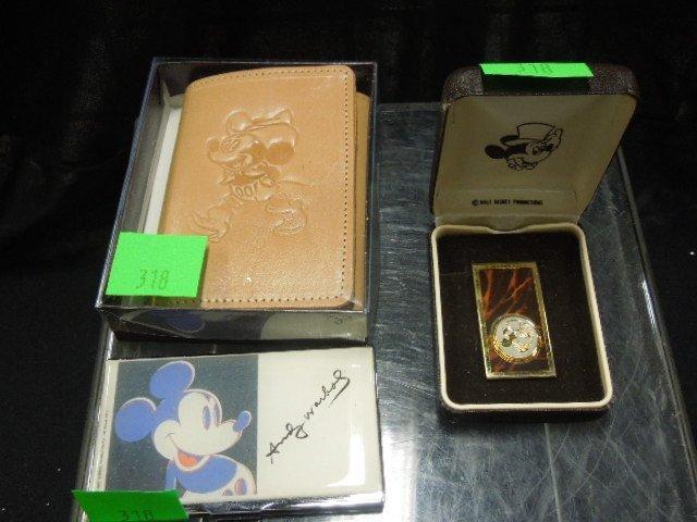 MM Cardholder Warhol, Plus Wallet & Money Clip