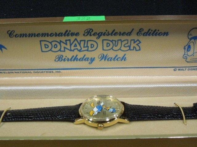 Men & Ladies Donald Duck Birthday Watches - 4