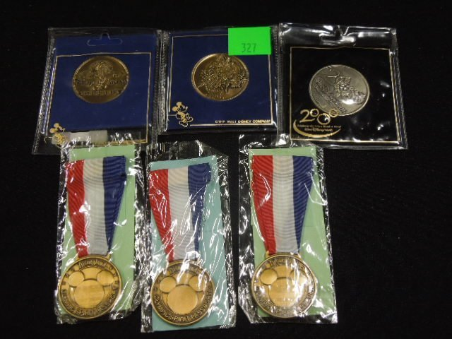 Disney Collectible Medals & Medallions