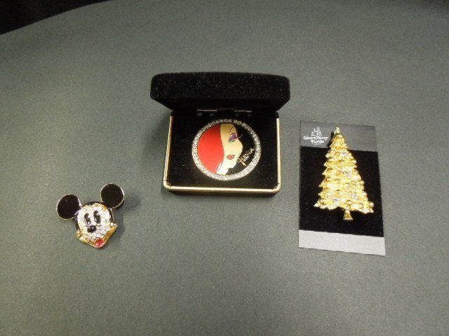 Disney Character Pins and Other Jewelry - 2