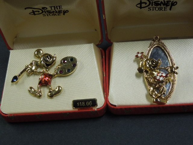 Disney Character Pins and Other Jewelry - 5