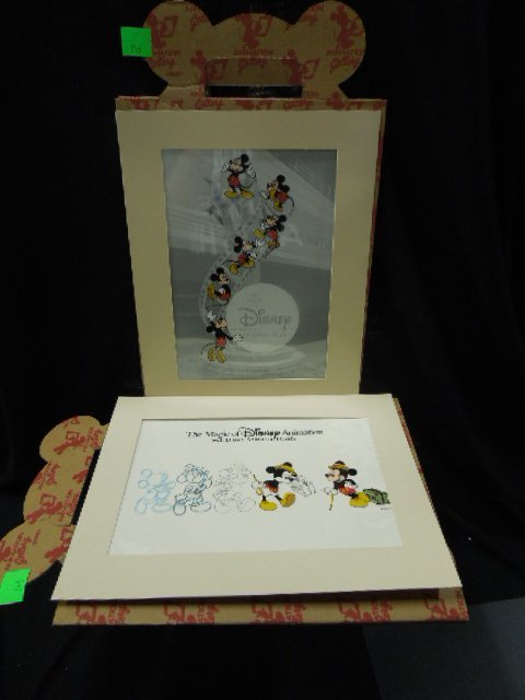 2 Magic of Disney Animations Cels
