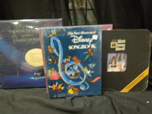 Disney Books & CDs - 2