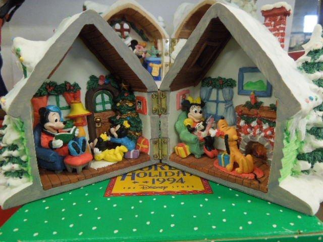 4 Resin Disney Christmas Figurines - 6