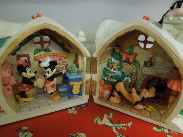 4 Resin Disney Christmas Figurines - 7