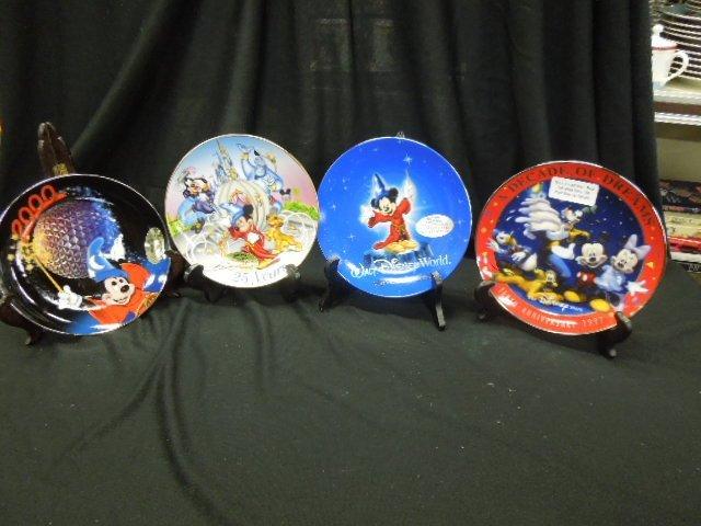 7 WDW & Other Disney Plates