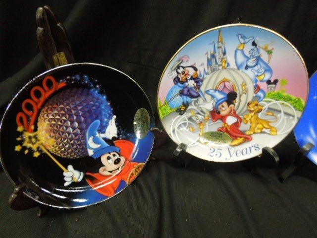 7 WDW & Other Disney Plates - 2