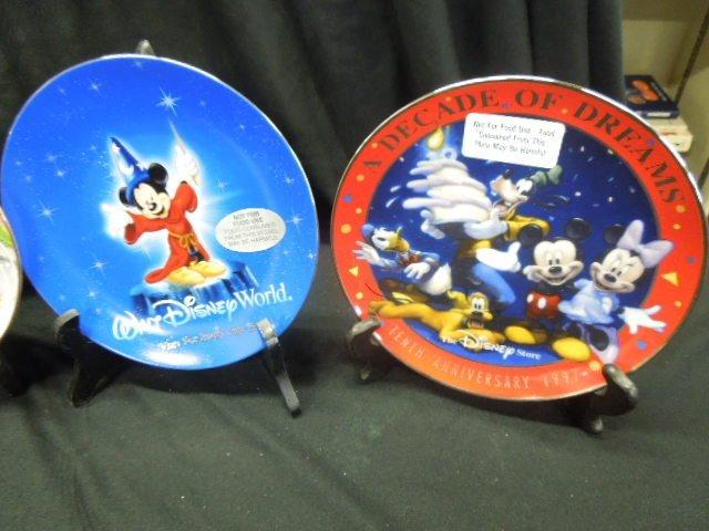 7 WDW & Other Disney Plates - 3