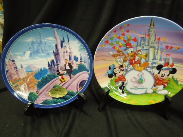 7 WDW & Other Disney Plates - 5