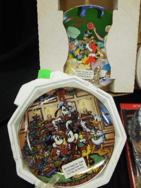 10 Disney Collectors Plates - 2