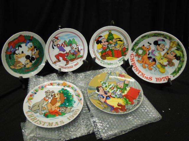10 Disney Collectors Plates - 4