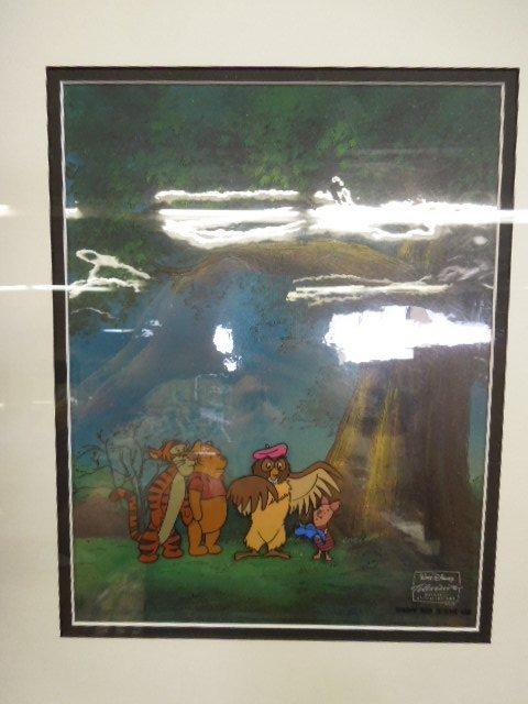 2 Framed Disney Original Pooh Cels - 2