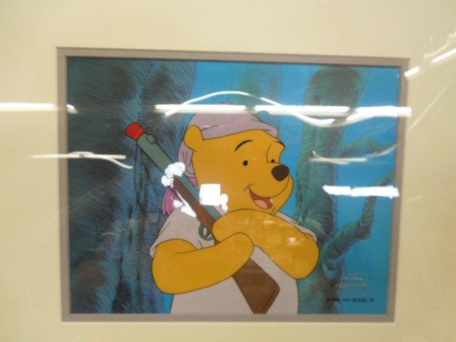 2 Framed Disney Original Pooh Cels - 3