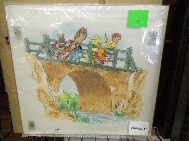 Disney Pooh Original Book Art