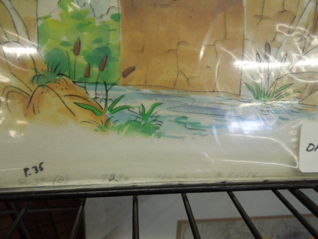 Disney Pooh Original Book Art - 2