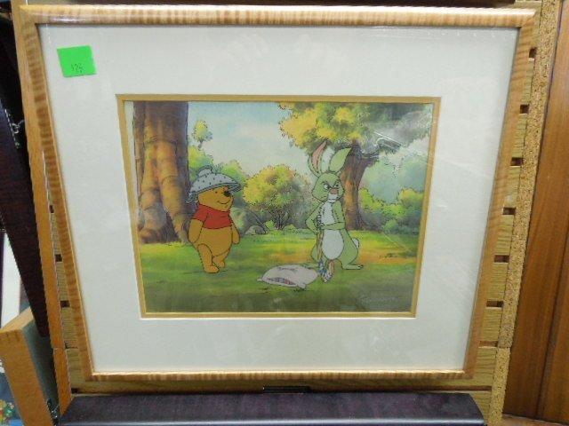 Framed Disney Original Pooh Cel