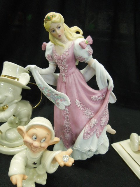 4 Lenox Disney Figurines - 4