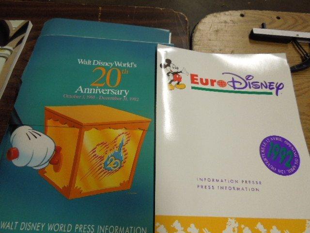 Disney Press packs pamphlets & booklets - 2