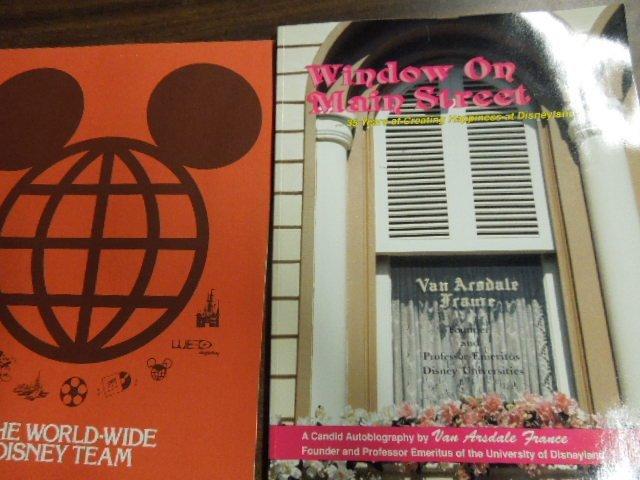 Disney Press packs pamphlets & booklets - 3
