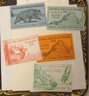 111: Virginia Hunting Stamps