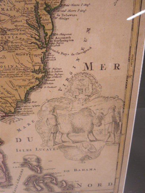 Framed Map Province of Mississippi - 3