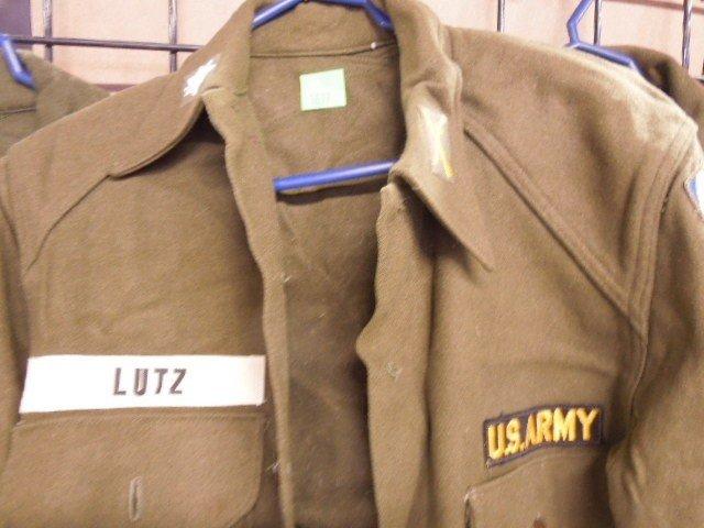 4 US Army Wool Field Shirts - 3