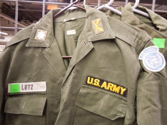 3 US Army Shirts w/Patches - 2