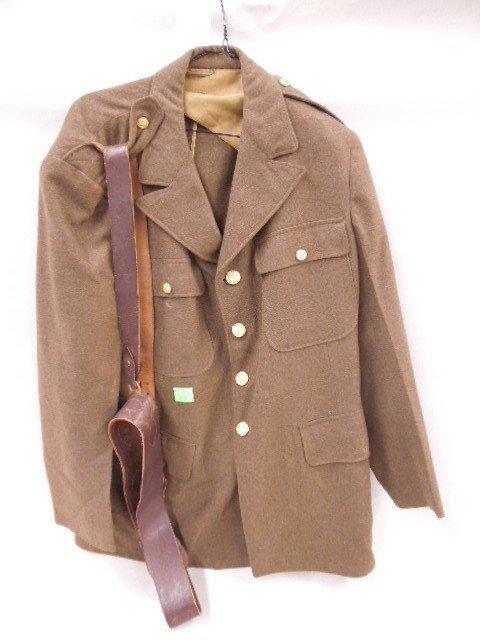 WW II US Army Dress Jacket & Belt