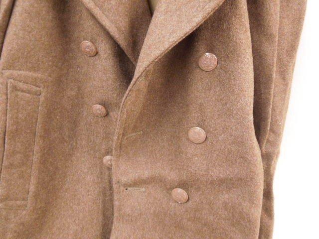 WW II U.S. Army Wool Long Coat - 2