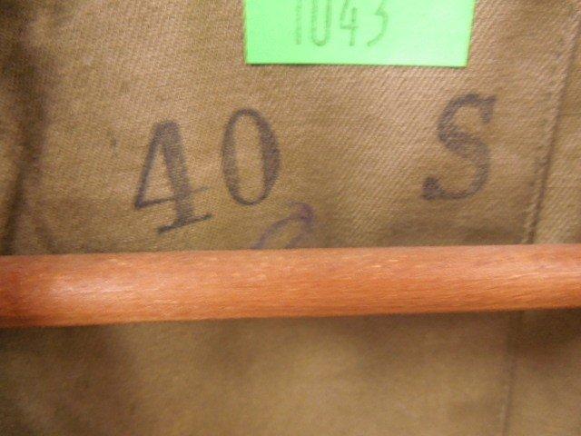 WW II U.S. Army Wool Long Coat - 3
