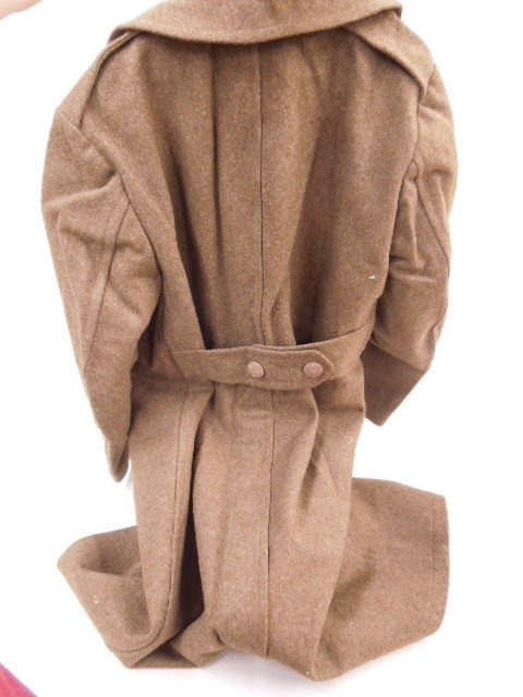 WW II U.S. Army Wool Long Coat - 4