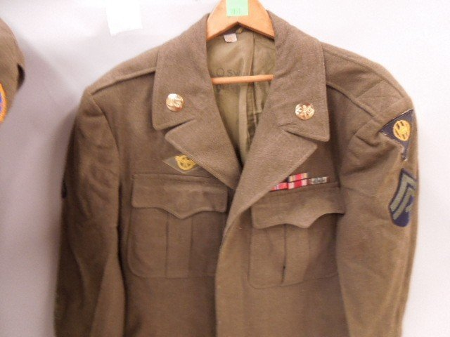 Pr of WW II U.S. Army Uniform Jackets - 3