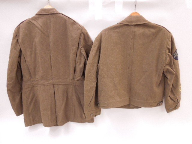 Pr of WW II U.S. Army Uniform Jackets - 4