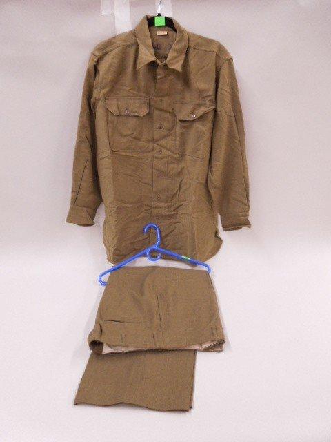WW II U.S. Military Shirt & Pants