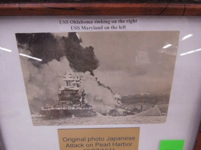 Original Photo of Attack on Pearl Harbor - 2