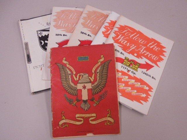 Lot Infantry Battalion Books - 4