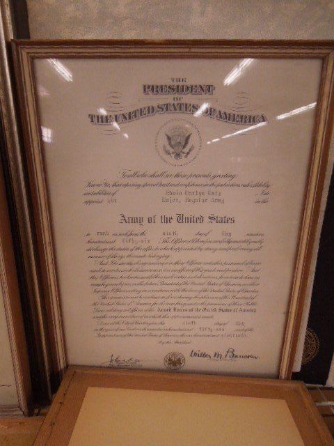 Lot of Military Certificates & Photo - 4