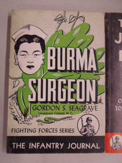 3 Vintage Paperback Military Books - 2