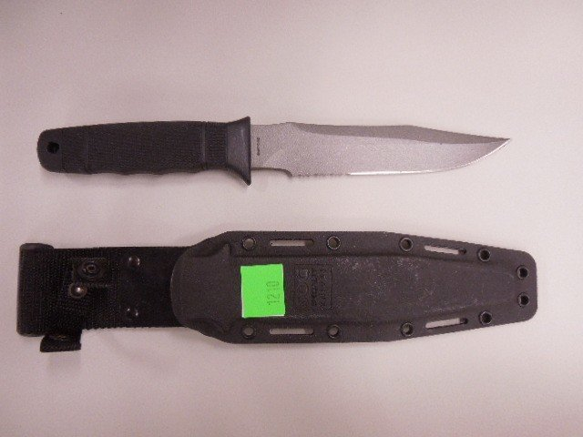 SOG Composition Handle Survival Knife