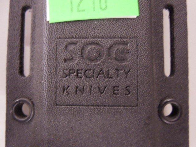 SOG Composition Handle Survival Knife - 4