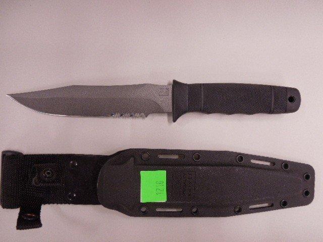 SOG Composition Handle Survival Knife - 5