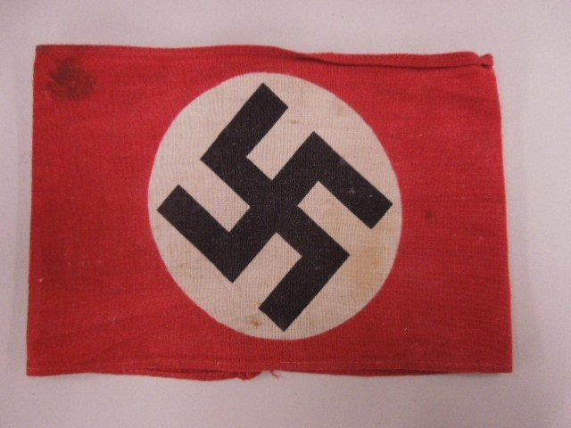 German Nazi Political Armband