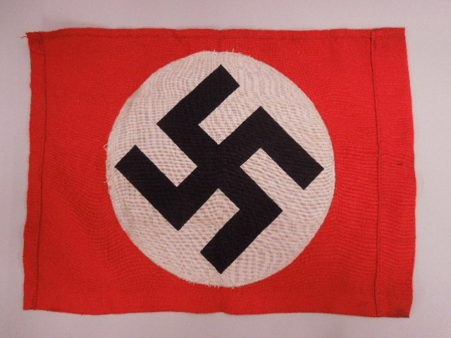 WW II German Nazi Flag - 2