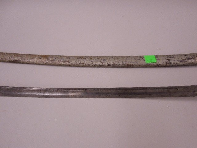 French Army Calvary Sabre & Scabbard, Model 1822 - 4